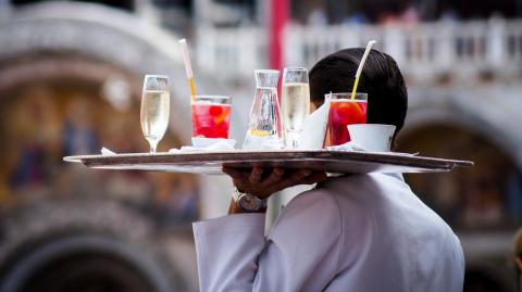 The UK is experiencing a shortage of waiters despite booming business