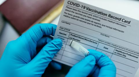 Reports show growing worldwide market for fake vaccine and COVID test certificates