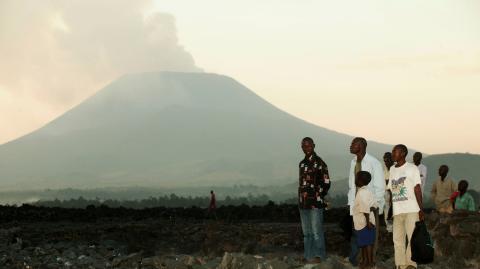 Congolese volcano threatens massive humanitarian disaster
