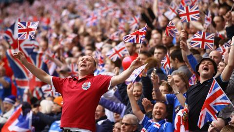 Fans could be fined £1000 for flying flags during Euro