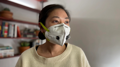 This face mask can detect COVID infection while you wear it