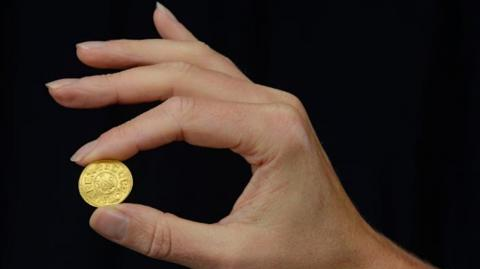 Rare gold coin found in Wiltshire valued at £200,000