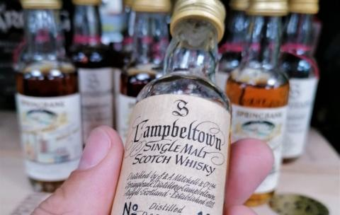 50ml Scotch whisky sells for a record £6,440