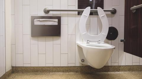 Can you catch COVID from using a public toilet? Study shows it's not likely