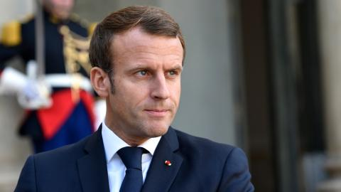 Man who slapped French President is out of jail and says he has 'no regrets'
