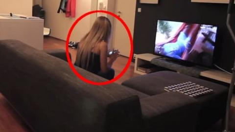 Prank Gone Wrong: This Guy Has Snooping Girlfriend Read Fake Text (Video)