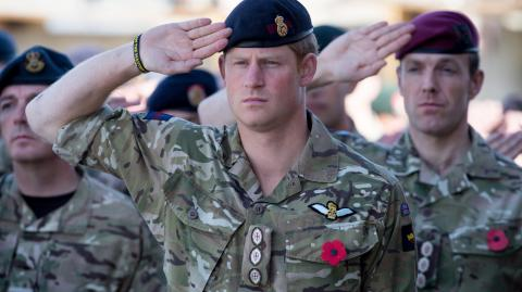 Prince Harry breaks silence on situation in Afghanistan