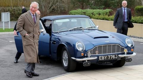 Prince Charles reveals his 51-year-old car runs on wine and cheese