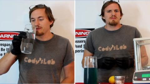 YouTuber Drinks Cyanide in Bizarre Science Experiment