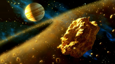 NASA discovered an asteroid filled with enough gold to make every human a trillionaire