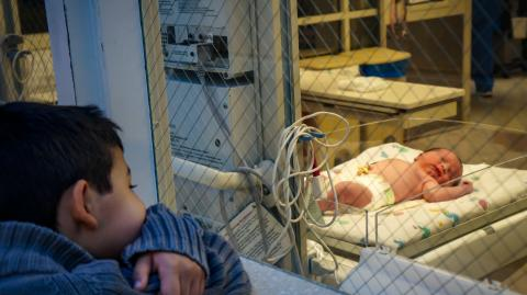 A baby has been born following a uterine transplant