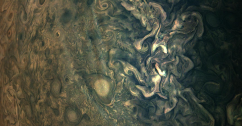 NASA Has Released These New, Incredible Close Ups of Jupiter