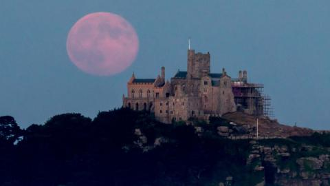 Don't Miss the 'Strawberry Moon' That Will Be Visible in the Sky Tonight