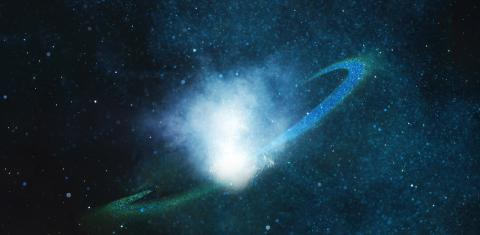 Space: for the very first time, a galactic 'death' is being observed!