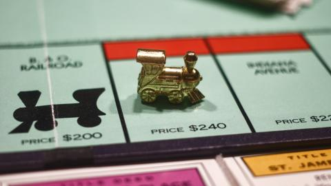 He deposited £700 in Monopoly money into his bank account