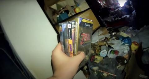 Two gamers discover €100,000 worth of video games in an abandoned house