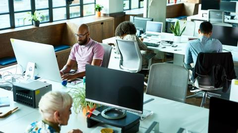 Working in an open space might actually be harmful for our health