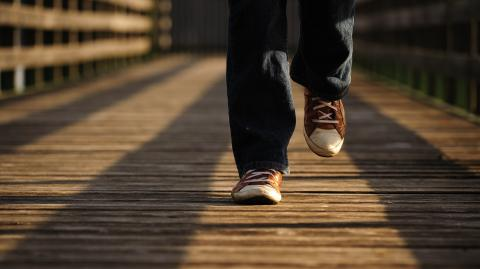 Slow walkers are four times likelier to die from COVID