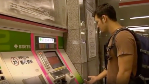 This tourist got way more than he expected when he asked for help on the Japanese metro
