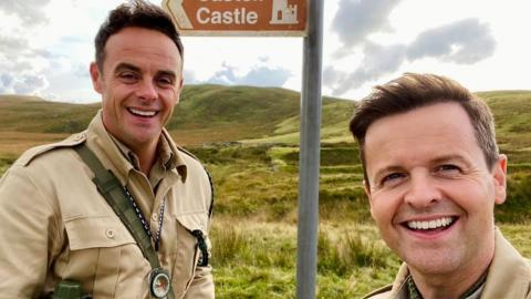 Ant and Dec have 'returned' to Gwrych Castle for I'm A Celeb 2021