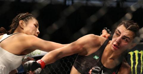 She Went For A Low Blow At UFC 243 And… Instant Karma