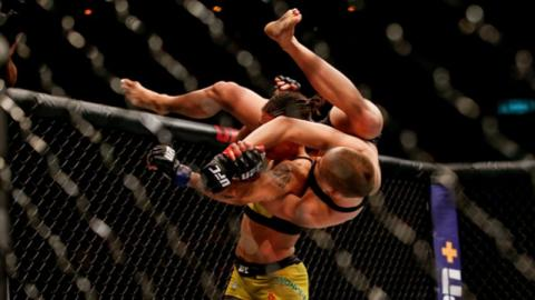 UFC: every slam KO in the organization's history
