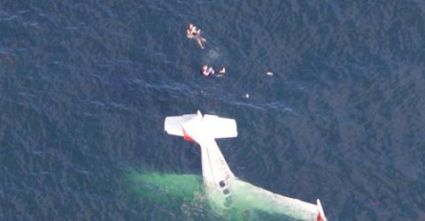 An American Influencer Filmed His Plane Crash And Rescue From The Middle Of The Pacific Ocean