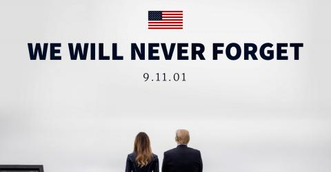 This Is Why The Photos Of The Trump's Tribute To September 11th Shocked Americans