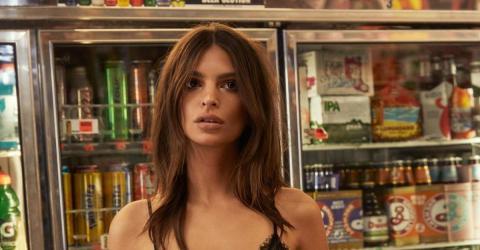 Emily Ratajkowski Looks Gorgeous In Photo's Promoting Her Lingerie Brand