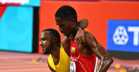 This Athlete's Selfless Act At The World Athletics Championships Has Moved The Web