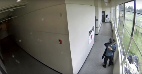 The Shocking Moment When a School Teacher Disarmed One Potential School Shooter With a Hug