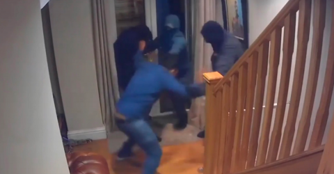 Burglars Try To Invade This Man's Home, What He Does Next Is Incredible
