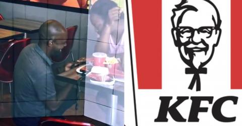 This Man Proposed In KFC, And You Won't Believe What Happened Next (VIDEO)
