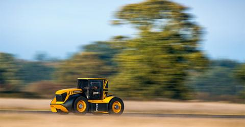 Check Out The World's Fastest... Tractor! (Video)