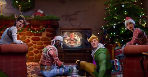 Fortnite Is All Decked Out In Christmas Colours!