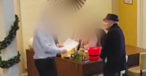 93-Year-Old Man Shoots an Unarmed Office Worker Twice Over a Rental Dispute (Video)