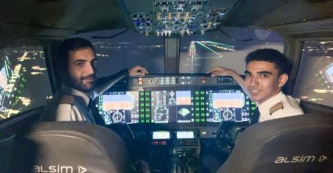 At Just 18-Year-Old This Is One of the Youngest Commercial Airline Pilots in History