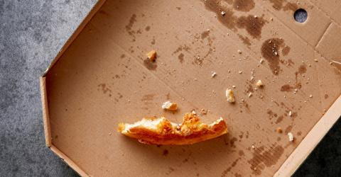 One Turkish delivery driver was sentenced to prison after spitting on a pizza