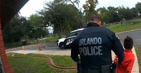 Shocking Footage Shows A 6-Year-Old Handcuffed And Arrested In Orlando