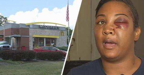 In an Aggressive Encounter, a McDonald's Employee Threw a Blender at a Customer