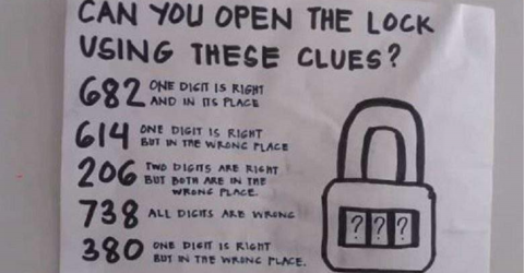 This Viral Riddle Has Internet Uses Pulling Out Their Hair – Can You Open the Lock Using These Clues?