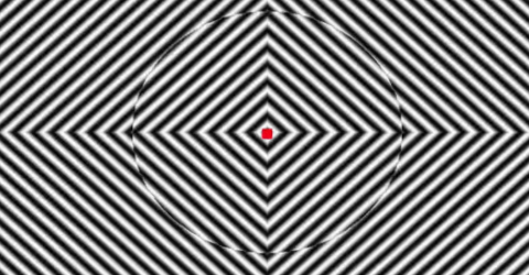 You Won't be Able to See Straight After Watching This Optical Illusion