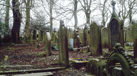 Police Caught a Man Who Was Pretending to Be a Ghost in a Local Cemetery