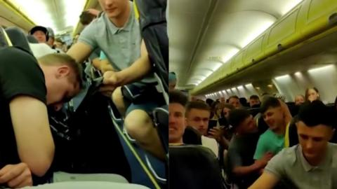 70 Drunk People on a Ryanair Flight Put the Rest of the Passengers Through Hell