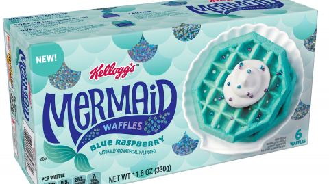 Kellogg's new 'blue waffles' have left customers in hysterics