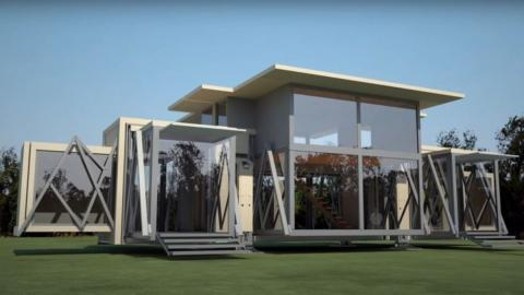 This House Can Unfold In Just 10 Minutes! (VIDEO)