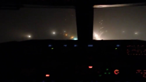 This pilot had zero visibility... How he landed was incredible