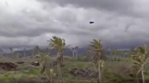 Some Google Maps users think they've found a UFO in Hawaii