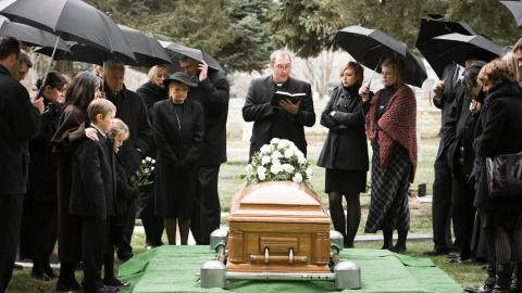 'Let me out!,' this man had everyone cracking up at his funeral