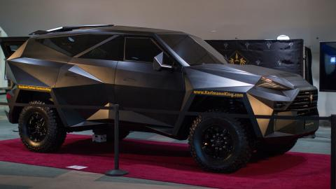 Check out the most expensive SUV ever made